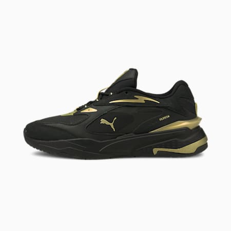 RS-Fast Metal v2 Sneakers, Puma Black-Puma Team Gold, small