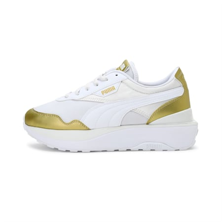 Cruise Rider Chrome Women's Shoes, Vaporous Gray-Puma Team Gold, small-IND