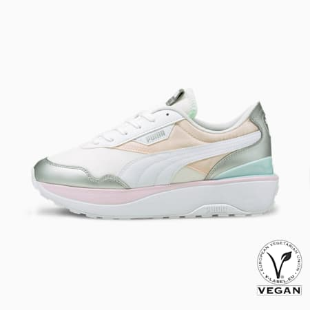Cruise Rider Chrome Women's Shoes, Pink Dogwood-Puma Silver, small-IND