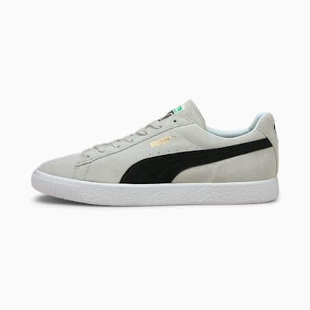 Suede Vintage MIJ Retro Trainers, Gray Violet-Puma Black, small