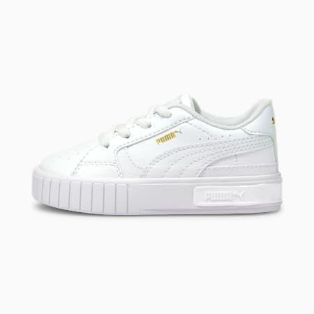 Niemowlęce buty sportowe Cali Star AC, Puma White-Puma White, small