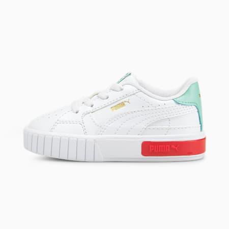 Niemowlęce buty sportowe Cali Star AC, Puma White-Eggshell Blue, small