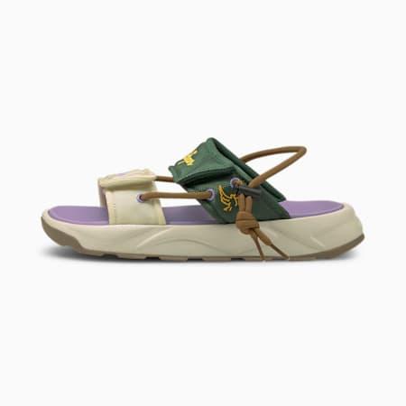 Sandały PUMA x KIDSUPER RS, Navajo-Pineneedle, small