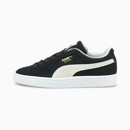 Młodzieżowe buty sportowe Suede Classic XXI, Puma Black-Puma White, small