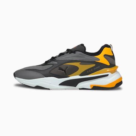 RS-Fast Unisex Sneakers, CASTLEROCK-Puma Black-Zinnia, small-IND