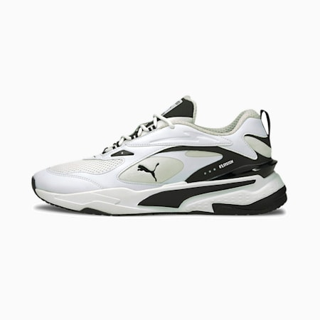RS-FAST ユニセックス スニーカー, Puma White-Puma Black, small-JPN