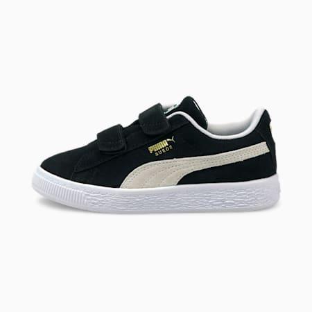 Suede Classic XXI Kids' Trainers, Puma Black-Puma White, small