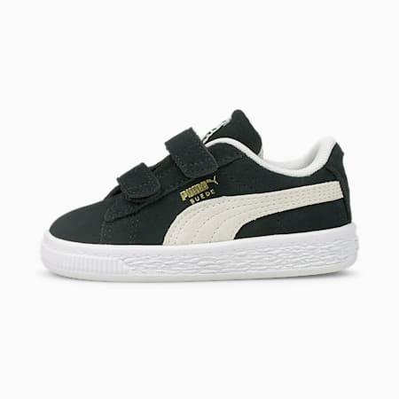 Suede Classic XXI Baby Sneaker, Puma Black-Puma White, small