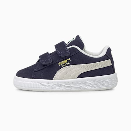 Suede Classic XXI Babies' Trainers, Peacoat-Puma White, small-GBR