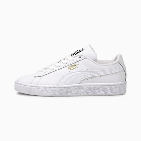 Zapatos deportivos Basket Classic XXIpara jóvenes, Puma White-Puma White, pequeño