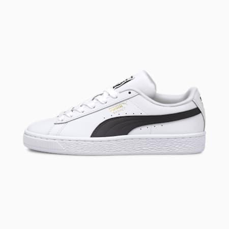 Zapatos deportivos Basket Classic XXIpara jóvenes, Puma White-Puma Black, pequeño