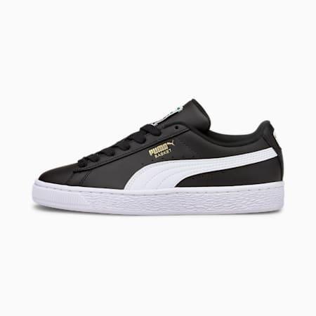 Zapatos deportivos Basket Classic XXIpara jóvenes, Puma Black-Puma White, pequeño