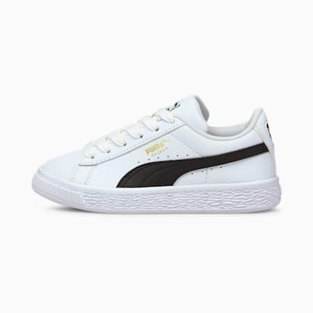 Zapatos Basket Classic XXIpara niños pequeños, Puma White-Puma Black, pequeño
