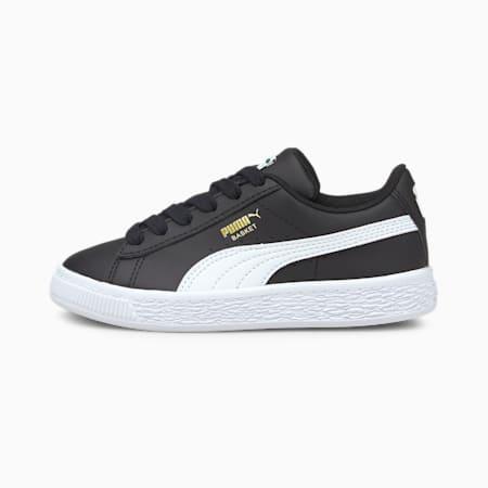 Zapatos Basket Classic XXIpara niños pequeños, Puma Black-Puma White, pequeño