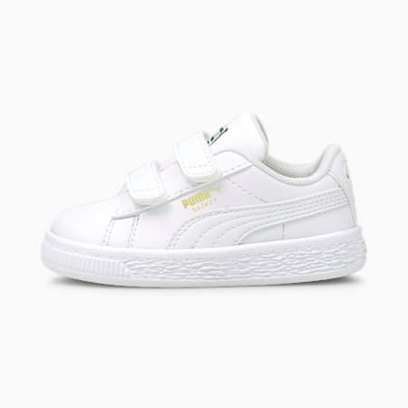 Basket Classic XXI Baby Sneaker, Puma White-Puma White, small