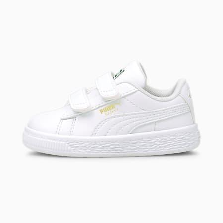 Souliers BasketClassicXXI, tout-petit, blanc PUMA-blanc PUMA, petit