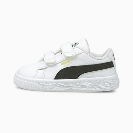 Souliers BasketClassicXXI, tout-petit, blanc PUMA-noir PUMA, petit