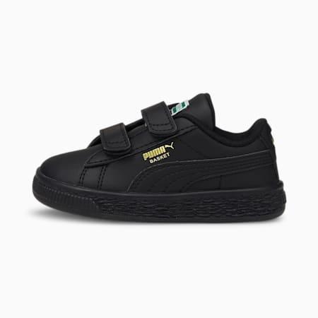 Basket Classic XXI Baby Sneaker, Puma Black-Puma Black, small