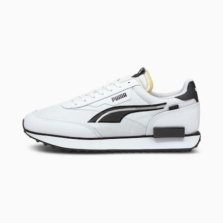Future Rider Twofold Sneaker, Puma White-Puma Black, small