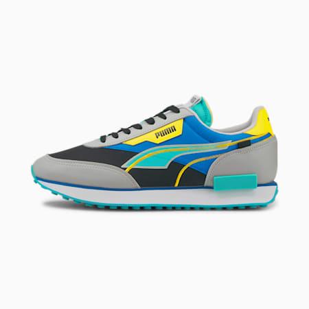 Scarpe da ginnastica Future Rider Twofold, Puma Black-Gray Violet-Future Blue, small