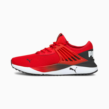 Pacer Future Classic Unisex Sneakers, High Risk Red-Puma Black-Puma White, small-IND