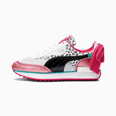 PUMA x L.O.L. SURPRISE! Future Rider Diva Sneakers JR, Puma White-Black-BRIGHT ROSE, small