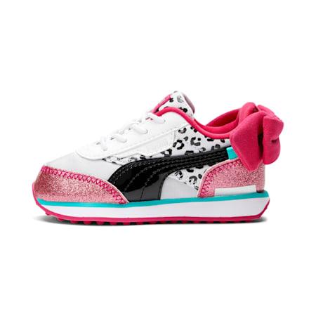 PUMA x L.O.L. SURPRISE! Future Rider Diva Toddler Shoes, Puma White-Puma Black-BRIGHT ROSE, small-GBR
