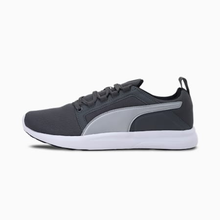 Ron V1 IDP Unisex Shoes, Dark Shadow-Puma Silver-Puma Black, small-IND