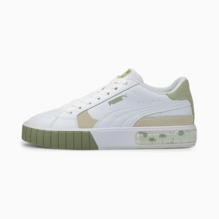 Cali Star In Bloom Damen Sneaker, Puma White-Desert Sage, small