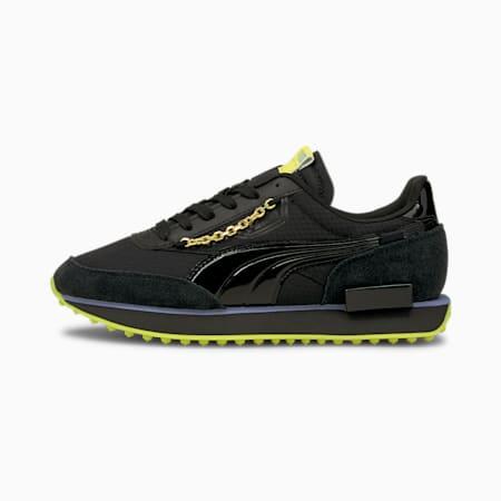 Future Rider Dark Dream Damen Sneaker, Puma Black-Nrgy Yellow, small