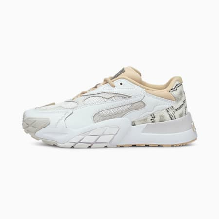 Hedra Snake Women's Trainers, Puma White-Shifting Sand, small-GBR
