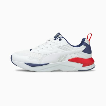 X-Ray Lite Summer Trainers, White-White-Elektro Blue-Red, small-GBR