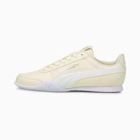 Zapatos deportivos Bella para mujer, Eggnog-Puma White, pequeño