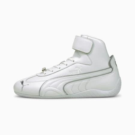 Zapatos deportivos Speedcat Mid LS Metallicpara mujer, Puma White-Puma Silver, pequeño