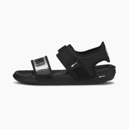 SoftRide Women's Sandals, Puma Black-Puma White, small-SEA