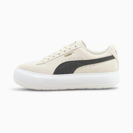 Zapatos deportivos Suede Mayu para mujer, Marshmallow-Puma White, pequeño