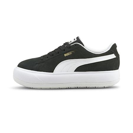 Suede Mayu Women's Sneakers, Puma Black-Puma White, small-IND