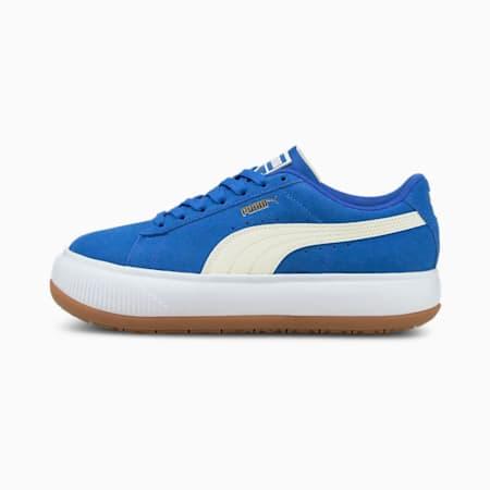 Suede Mayu Women's Trainers, Olympian Blue-Puma White-Gum, small