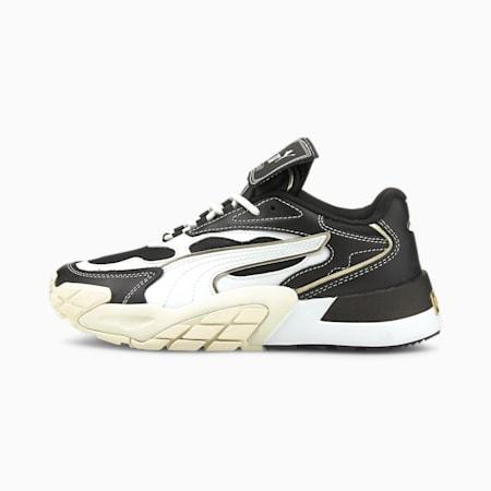 Zapatos deportivos Hedra BGame para mujer, Puma Black-Puma White, pequeño