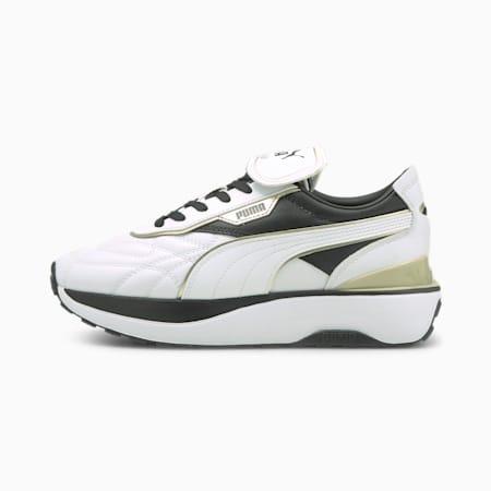 Zapatos deportivos Cruise Rider B-Game para mujer, Puma White-Puma Black, pequeño