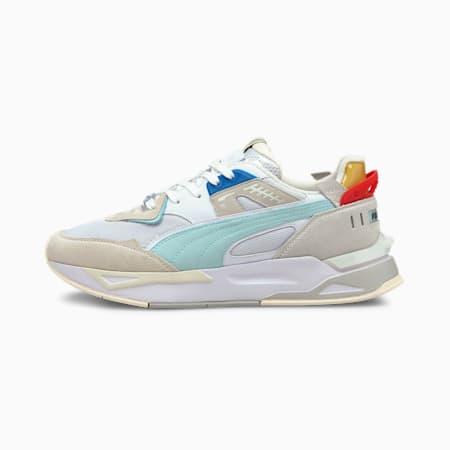 Zapatos deportivos Mirage Sport para hombre, Puma White-Vaporous Gray, pequeño