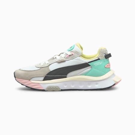 Wild Rider Layers Sneakers, Puma White-Ebony, small