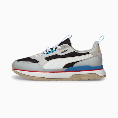 R78 Trek Unisex Sneakers, Puma Black-Puma White-Glacial Blue, small-IND