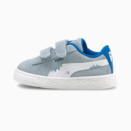 Zapatos deportivos Suede Lil PUMA para bebés, Blue Fog-Puma White, pequeño