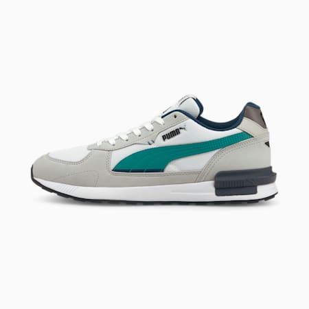 Graviton Unisex Sneakers, Puma White-Parasailing-Gray Violet-Steel Gray-Puma Black, small-IND