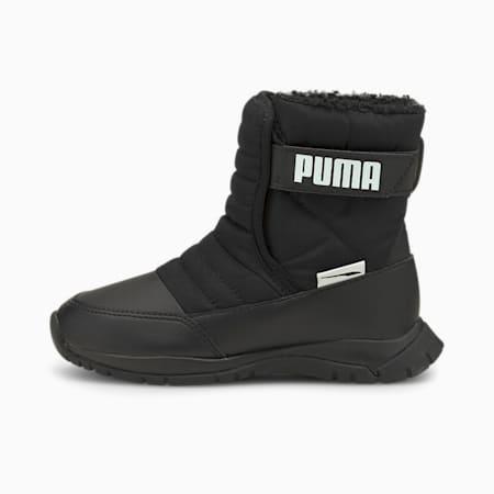 キッズ プーマ ニエベ ブーツ ウィンター AC PS 17-21cm, Puma Black-Puma White, small-JPN