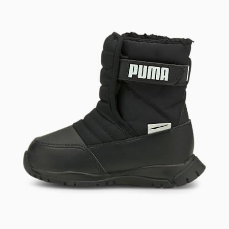 Nieve Winter Babies' Boots, Puma Black-Puma White, small