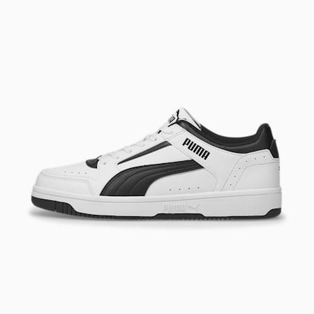 Zapatos deportivos de caña baja Rebound Joy, Puma White-Puma Black, pequeño