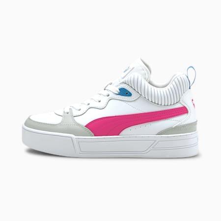 Zapatos deportivos Skye Demi para mujer, Blanco-Púrpura-Gris-Azul, pequeño