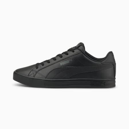 PUMA Smash Vulc V3 Unisex Sneakers, Puma Black-Puma Black, small-IND